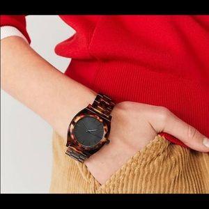 Nixon time teller tortoise women's Watch
